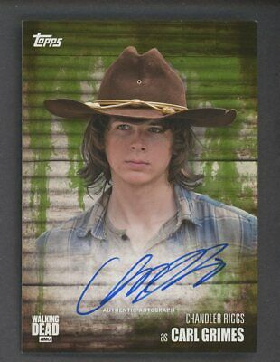 Chandler Riggs Walking Dead S6 Carl Grimes Signed Autographed A4 Print Poster
