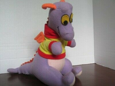 VTG Disney World Epcot Figment plush stuffed animal toy 1982 grand opening