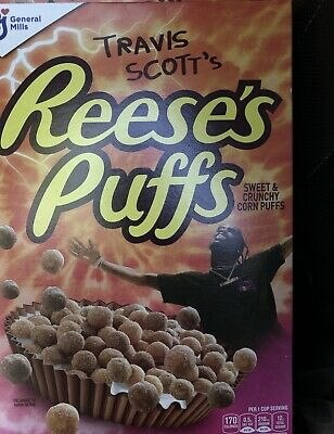 Travis Scott's Reese's Puffs Cereal New Sealed Box LOT OF 2