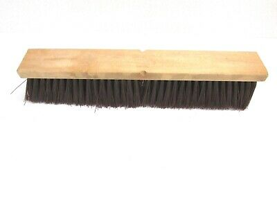 "Nos! Magnolia 18"" Floor Brush Brown Poly 3"" Bristles"