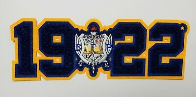 """5/"""" tall. Sigma Gamma Rho Shield Patch with adhesive"""