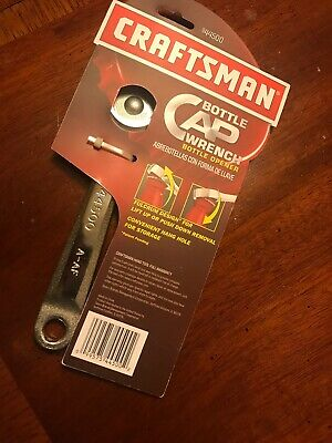 NEW Craftsman Bottle Opener Cap Wrench 44500 Man Cave BBQ Tool Gift Fathers Beer