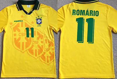 ROMARIO 12 Brazil 1994 Classic Football Shirt Soccer Jersey Retro Top