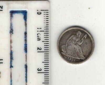 Usa.1837  Dime. Good Grade .Please See Pictures