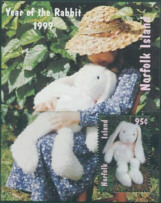 Norfolk Island 1999 SG692 Year of the Rabbit MS MNH