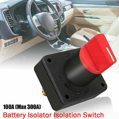 Universal 12V Battery Isolator Switch Cut Off Disconnect Terminal Car Van Boat