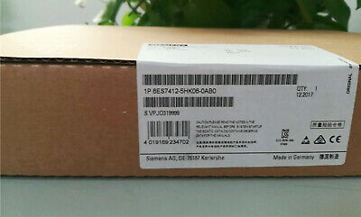 New In Box Siemens 6ES7412-5HK06-0AB0 6ES7 412-5HK06-0AB0 One year warranty