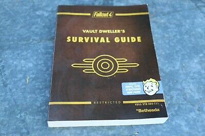 Fallout 4 Vault Dweller's Survival Guide Collector's Edition Strategy Guide Book
