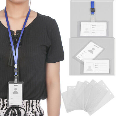 Lanyard ID Business Case Name Card ID Card Pouch Card Sleeve Work Card Holders