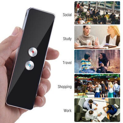 AU Smart Wireless Translator 30+ Languages 2-Way Instant Translation Protable