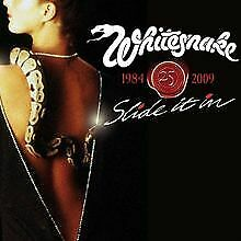 WHITESNAKE SLIDE IT IN-25TH ANNIVERSARY EXPANDED EDITION   CD   Zustand sehr gut