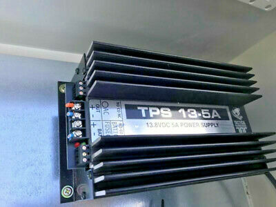 Tactical technologies Tps13.5 power supply 5A 13.5VDc 240V AC input - USED