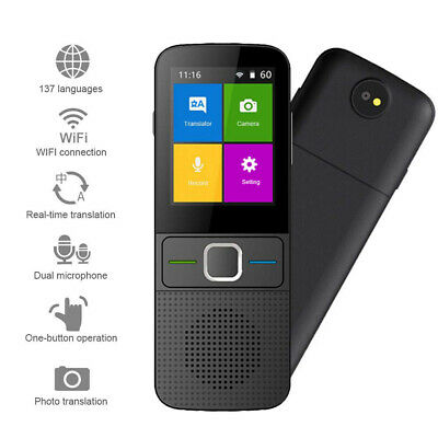 Photo Interpret Travel Portable Smart Voice Language Translator WIFI Real Time