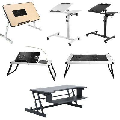 Table de Lit Ordinateur Portable Pliable multi-fonction pour Bureau Tablette 2T