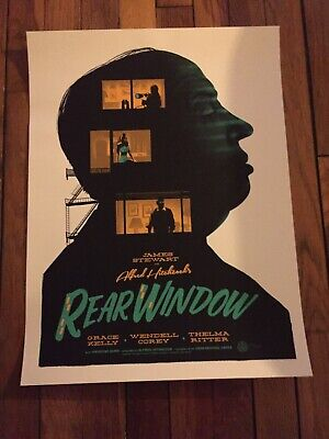 Mondo Print - Rear Window - Gary Pullin - Movie Print Poster