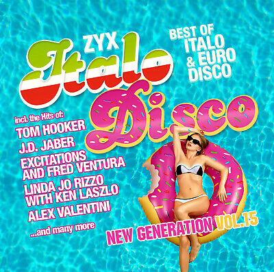 CD ZYX Italo Disco New Generation Vol.15 von Various Artists 2CDs