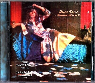 DAVID BOWIE - The Man Who Sold The World CD 1999 Glam Rock (24 Bit) Remastered