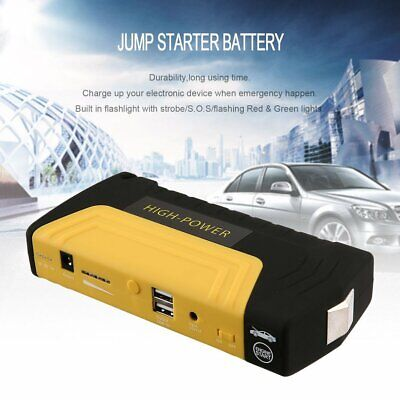 12V 68800mah Car Jump Starter Power Bank Vehicle Battery Charger W/ Air Pump LK