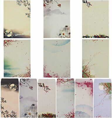 SUNSWEI Writing Stationary Paper Set, Letter Writing Paper Letter Sets, 48 PCS