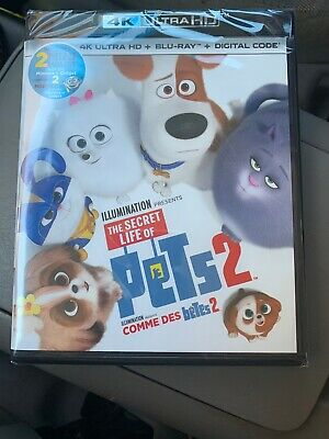 Secret Life Of Pets 2 4K Ultra HD Blu-ray + Digital Code Illumination