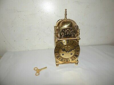 Schatz Germany,Brass Mantel Lantern Clock.British Rail.