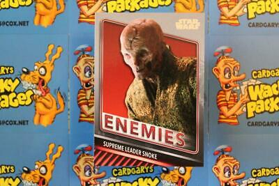 2019 Topps Star Wars Skywalker Saga Enemies Chase Card E-9 Supreme Leader Snoke