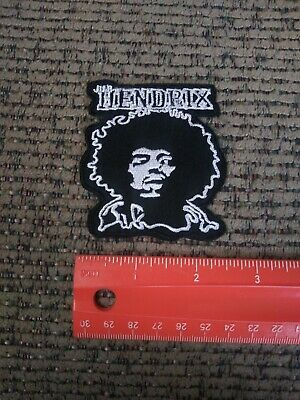 Jimi Hendrix Electric Ladyland Woven Sew On Patch 10cm x 10cm