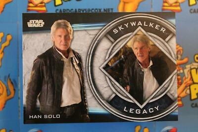 2019 Topps Star Wars Skywalker Saga Legacy Chase Card Ft-9 Han Solo