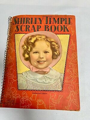Vintage Antique Shirley Temple  Scrapbook (A6)