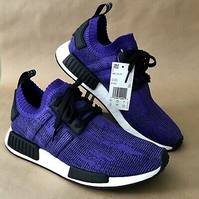 check out 2591f b8a6f ADIDAS NMD R1 PK Primeknit Men's Shoes Energy Ink Purple ...