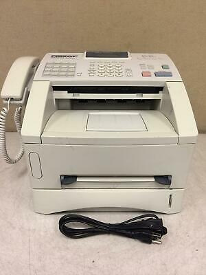 Brother Intelli-Fax 4100E Laser Fax Machine and Copier w/Toner Working!