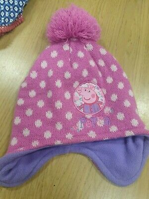 Girls Peppa Pig onse ,hat And Shorts From Age 18 Months Upwards