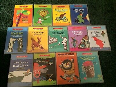 Scholastic Video Collection Treasury Storybook Classics Lot of 13 DVDs Some Rare