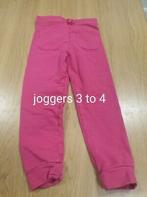 Girls Jogging Trousers Age 3-4 Years