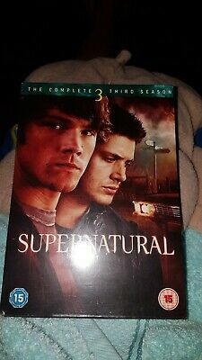 Supernatural The Complete Third Season.dvd.new And Sealed.