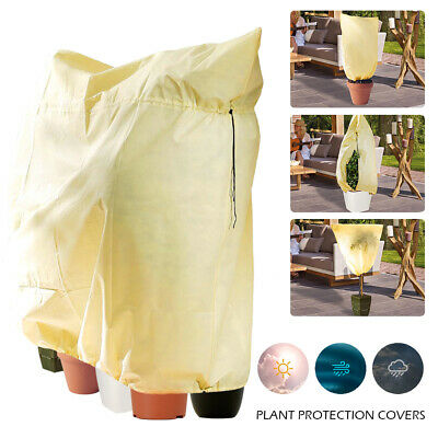 Frost Protection Bag Winter Fleece Warm Covers Protector Plant Tree Garden Shrub