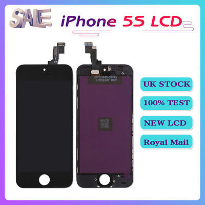 Black For iPhone5S Screen Replacement LCD Display Touch Digitizer Assembly