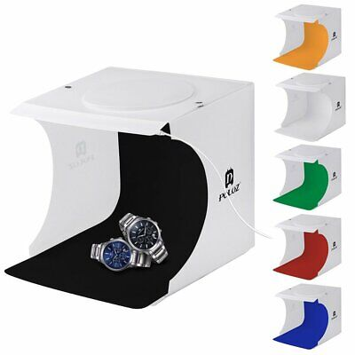 Light Room Photo Studio Photography LED Lighting Tent Backdrop Cube Mini Box LK
