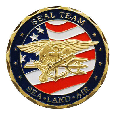 40*3mm Challenge Coin United States Navy Seals US Commemorative Coin