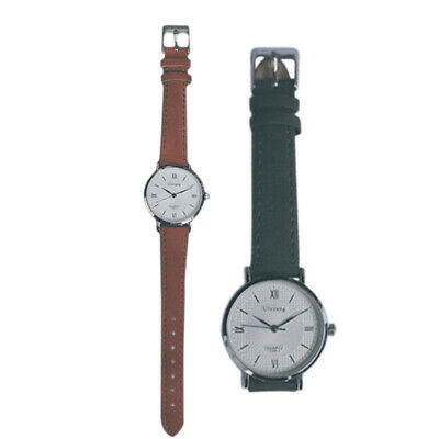 1X(Ulzzang Silver Stainless Steel Strap Women'S Fashion Simple Vintage StylR6Q2)