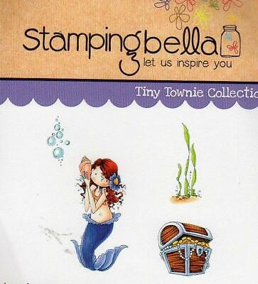 Cling Rubber Stamp Mermaid Stampendous 475x45 Crp151 Stamp Shipping Included