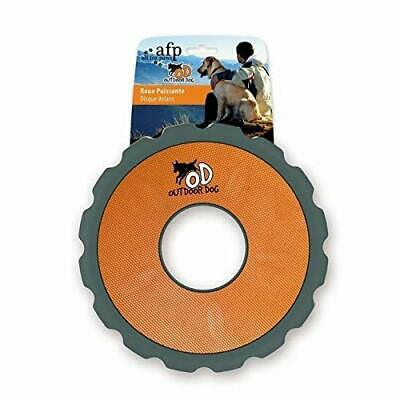 All for Paws AFP8459 Frisbee para Perros Naranja Outdoor Dog
