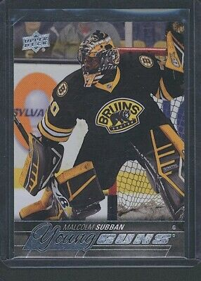 2015-16 Series One MALCOLM SUBBAN Young Guns RC/Rookie Las Vegas Knights