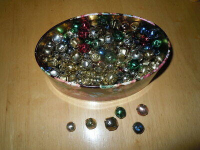 Assorted Jingle Bells Assorted Colors And Sizes 150+ Pre-Owned