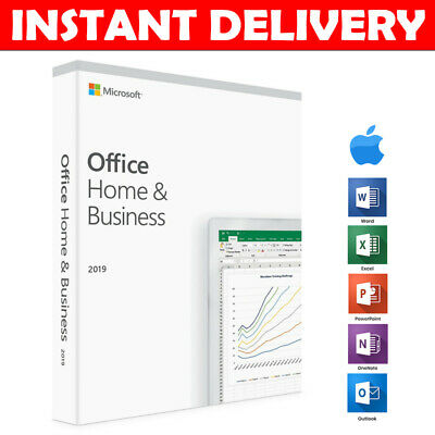 ⭐️ Microsoft Office Home and Business 2019 | Mac | 100% Genuine | Lifetime ⭐️