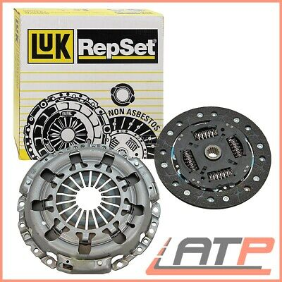 Clutch Kit 3pc 240mm 624354733 LuK Genuine Quality Replacement Cover+Plate+CSC