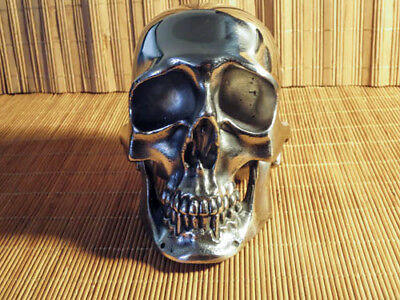 Maratac Mammoth Skull - Stainless Steel - 7.5 lbs. -HUGE and BEAUTIFUL - NEW
