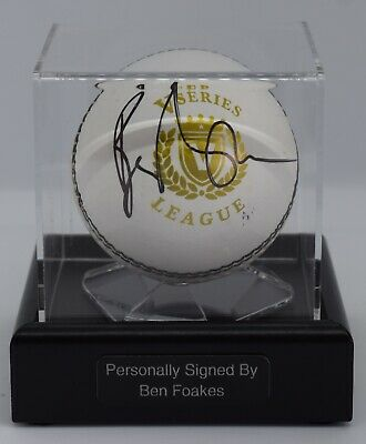Sportagraphs David Gower Signed Autograph Cricket Ball Display Case Sport England AFTAL COA PERFECT GIFT