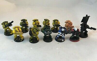 12 Space Marines Tactical Squad Lot Marine Warhammer 40K
