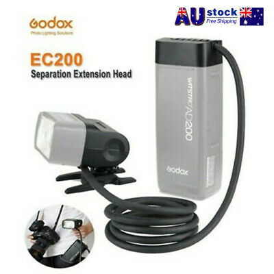 Godox Extension Head EC200 1.85M Hot Shoe Remote Separation For AD200 Flash AU